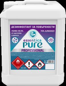 Дезифектант за повърхности  Essentica Pure 5 l