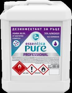 Дезифектант за ръце  Essentica Pure 5 l