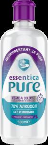Дезифектант за ръце  Essentica Pure 500 ml